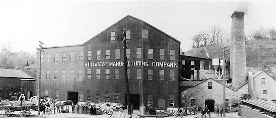 photo scan of Stillwater Manufacturing Company, which made the R Instructional Signs.