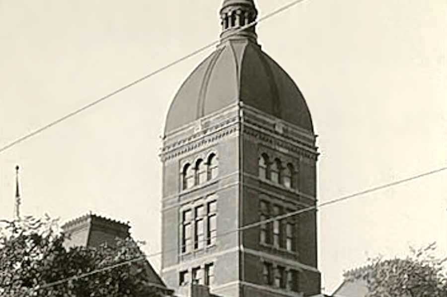 Second Minnesota State Capitol, 1932. designed by Minneapolis architect Leroy Buffington